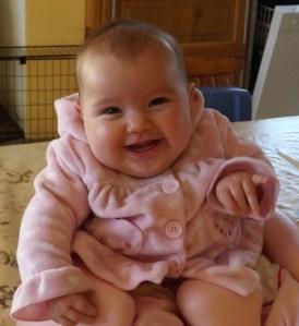 Nesta foto ela tinha 3 meses, agora esta com 5 meses.