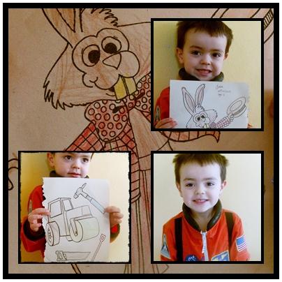 Judah, 5 anos de idadeColorir nao eh o seu [passatempo favorito, mas quando ele esta inspirado ele faz um otimo trabalho.